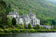 Abbey View (gabi-h) Tags: kylemoreabbey connemara countygalway ireland gabih bendictine abbey architecture river green water buildings historical