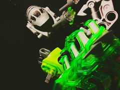 Coming Soon. The Engineer (Flame Kai'zer) Tags: flame kaizer bionicle the engineer black green lego moc teaser coming soon
