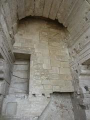Arles Amphitheatre (AmyEAnderson) Tags: outdoor stadium coliseum amphitheatre historic limestone bricks shapes arch angles architecture arles bouchesdurhone france provence hidden indentation unesco