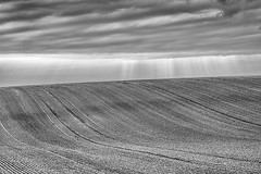 Sep 20 - Abstract landscape (hajeka) Tags: 201609 bw pad clouds landscape sunray 88368mm