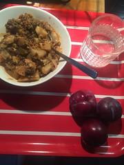 Krgar'n tipsar 13/9 (Atomeyes) Tags: mat linsgryta sej fil fisk mejram lime vatten plommon frukt
