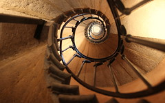 Stone snail (Croix-roussien) Tags: stairs spiral escaliers abstract art urban france lyon architecture ngc