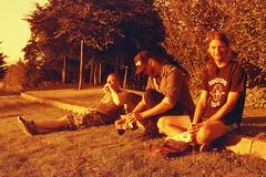Karlstad, California (Magnus Bergstrm) Tags: lomography redscale xr lomographyredscalexr film 135 35mm canonae1 canon ae1 analog color colour portrait sweden vrmland sverige wermland karlstad sandgrund sandgrundsudden tottaf00 robsch00 joasv00