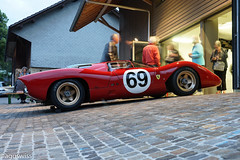 1969 Ferrari 312P (aguswiss1) Tags: 1969ferrari312p 1969 ferrari 312p racer racecar car redcar auto rennauto ferrariclassiche classiche millionaire million switzerland