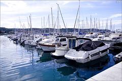Izola marina (gwennan) Tags: sea boat boats blue walks nature autumn vacation izola isola slovenianlittoral slovenia water outdoor