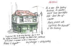 12aug2016 The Old Curiosity Shop (alissa duke) Tags: holborn london urbansketchers urbansketching oldcuriosityshop dickens