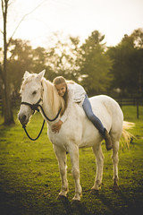 Untitled (Leigh Anne Brader) Tags: october fall horse horsefarm horses riding girls sisters blondes blonde