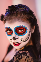 Red Eye Effect (Cardwell Photo LLC | Thanks for 2 Million Views!) Tags: cosplay costume costumes diadelosmuertos downtown greaterhouston harriscounty houston leannahale meetup model outdoor people portrait stephanievelasquez sugarskull texas universityofhoustondowntown unitedstates