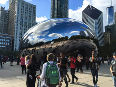 IMG_4856 (SheelahB) Tags: thebean chicago cloudgate illinois sculpture