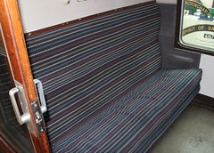 British Railways Mark 1 First Corridor (FK) Coach Compartment Interior (Stuart Axe) Tags: england uk unitedkingdom gb greatbritain heritagerailway rail railway railways train trains coach carriage britishrail fk bfk firstclass compartment mk1 britishrailways gcr greatcentralrailway loughborough leicestershire loughboroughcentral quorn rothley heritage