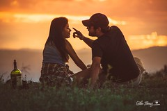 accomplices (Carlos Alberto Tomaz) Tags: red love nature sunset people new like clouds sun light tree edge