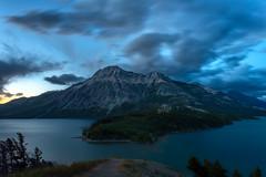 Waterton Lakes National Park, Alberta (Brian Krouskie) Tags: waterton lake national park dawn sunrise longexposure sky clouds outdoor landscape alberta canada nikond800 nikon173528 mountain blue
