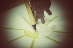 (***toile filante***) Tags: sun sonne creative kreativ poetisch poetic soulful emotions emotional danbo