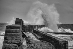Canute (TheWildFireOne) Tags: wave water ocean waves surf coast sea scotland north harsh storm 500px