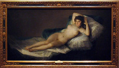 The Nude Maja - Francisco José de Goya y Lucientes (alplatt) Tags: portrait seascape art museum painting landscape spain artist fineart painter artmuseum