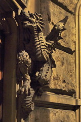 Il Drago maschio (Morgause666) Tags: italy torino italia eu piemonte turin piedmont italie piemont augustataurinorum pimont casadeidraghi casadellavittoria casadelcarrera trn euroregionealpimediterraneo eurorgionalpesmditerrane alpmed