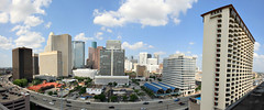 (o texano) Tags: rooftop skyline texas houston centralsquare