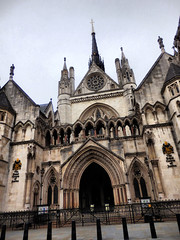 Royal Courts of Justice, The Strand, London (photphobia) Tags: city uk london lawcourts courts thestrand royalcourtsofjustice cityoflondon