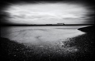 Shingle Steet, Suffolk, UK,Noir Film