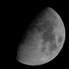 November First Quarter Moon (Scouse Smurf) Tags: sky moon night lunar