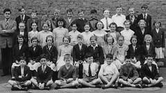 Class photo (theirhistory) Tags: uk school girls england boys senior shirt children shoes dress group tie skirt class teacher master jumper shorts schoolphoto secondary wellies blazer pupils