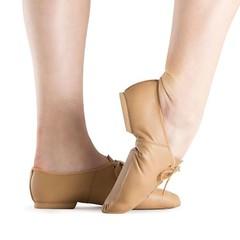 Bloch Womens Dance Shoes Original Split Sole ULTRAFLEX Jazz Shoe Tan/Black NEW (blochebay) Tags: danceshoes womensdanceshoes blochwomensdanceshoes