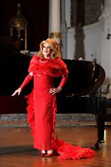 Gloria Vulcano in Concert! (Gloria Vulcano) Tags: hair drag big theater transvestite gown dragqueen temptation diva reddress travestie travestiet reddiva