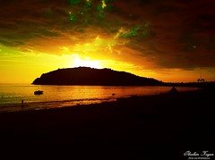Gün Batıyor. Yeni Bir Güne Doğmak İçin... (ibrahim.koyun) Tags: sunset sea beach turkey day türkiye samsung antalya galaxy deniz alanya s4 sahil güneş dalga gün batımı alaiye