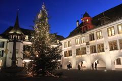 Thun, Rathausplatz (demeeschter) Tags: christmas city architecture switzerland thun berner oberland