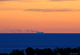 Stasera il cielo è così terso..dal Cilento si vede Stromboli! (Thanks EXPLORE)