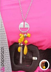 Sunset Sightings Yellow Necklace K2A P2911A-3
