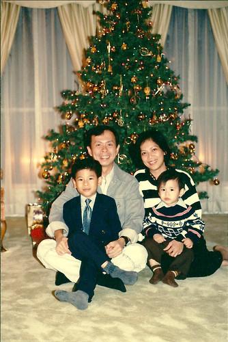 Christmas circa 1992