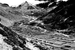 The Khumbu Area Nepal (Clive Jones Photography) Tags: travel nepal mountains monochrome nikond70 blackandwhitephotography adventureholidays clivejones thekhumbuvalley copyrightclivejones mountainphotoghraphy