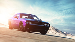 Dodge Challenger SRT8 (nbdesignz) Tags: 6 hot sexy cars beautiful beauty car digital photoshop crazy purple muscle edited sony plum willow springs dodge gran turismo v8 challenger edit musclecar lightroom gt6 polyphony ps3 playstation3 srt8 gtplanet nbdesignz