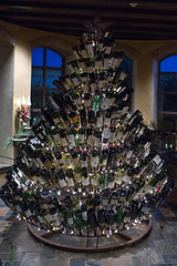 Christmas Tree (Todd Ryburn) Tags: tree cowboys canon football wine neworleans nfl christmastree dallascowboys winebottles 2010 neworleansparty gaylordtexan thanksgivingparty