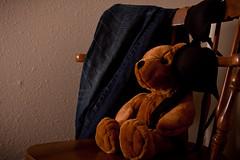 Final-0019 (k_craig_photo) Tags: bear toy lost stuffed time bra jeans teddybear innocence change