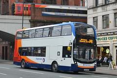 Stagecoach AD Enviro 400MMC 10408 SL64HZR - Manchester (dwb transport photos) Tags: bus manchester alexander dennis stagecoach enviro decker 10408 sl64hzr