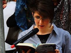 Carlotta (Tu prova ad avere un mondo nel cuore...) Tags: como donne giugno rosso ritratto manifestazione carlotta 2013 controlaviolenzasulledonne