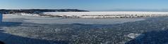 2015.02.05 Abashiri (258) (Kotatsu Neko 808) Tags: panorama japan hokkaido   abashiri  2015 driftice icebreakerboat