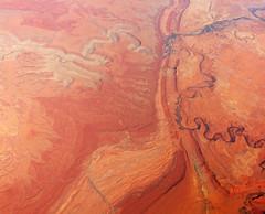 2015_02_10_lax-ewr_315 (dsearls) Tags: red orange rock utah flying desert aviation united flight magenta erosion geology ual arid jurassic unitedairlines windowseat windowshot goosenecks sanjuanriver navajosandstone combridge mesozoic canevalley 20150210