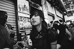 _DSC7018BN (farnitano.amos) Tags: street portrait people woman halloween japan tokyo nikon bn