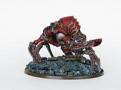 Blood Slaughterer Butcherpack (Uruk's Customs) Tags: world blood chaos space imperial warhammer marines forge armour impaler wh40k eaters khorne slaughterer