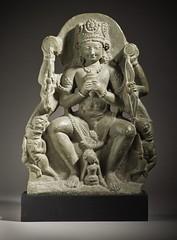 Vishnu Vanquishing the Demons Madhu and Kaitabha LACMA M.83.72 (1 of 5) (Fæ) Tags: wikimediacommons imagesfromlacmauploadedbyfæ madhukaitabha sculpturesfromindiainthelosangelescountymuseumofart