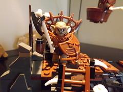 goblin foot soldier (Nilbog Bricks) Tags: king lego lotr goblin minifig custom hobbit merc minifigures brickwarriors