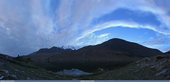 Borit Lake in the Evening, Gojal, Hunza in Gilgit-Baltistan, Pakistan (gilgit2) Tags: pakistan sky panorama clouds work landscape geotagged wideangle tags location elements ultrawide stitched canonefs1022mmf3545usm borit gojal gilgitbaltistan canoneos650d imranshah