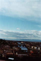 Full sky    Blue Florence (Anis Saraci) Tags: auto blue sky film lens 50mm florence kodak f14 s olympus full om zuiko 400iso   ultramax om1n