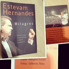 Livro Milagres - Ap. Estevam Hernandes