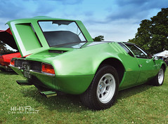 Mangusta! (Hi-Fi Fotos) Tags: green art vintage design italian nikon classiccar antique style exotic supercar sportscar mongoose detomaso pvgp mangusta d5000 hallewell hififotos