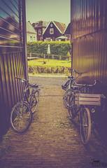 E (380)-2 (jupemarch) Tags: amsterdam bikes holland marken