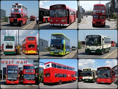 Collage - Londoner Live 2016 (BristolRE2007) Tags: bus buses london londonbus routemaster londonerlive2016